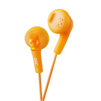 Harga JVC Headphone Gummy HA-F160 - Orange