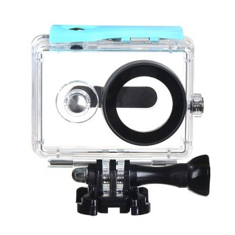 Harga (IMPORT) EACHSHOT? 40m Underwater Waterproof Protective Housing Case For Xiaomi Yi Action Camera (Blue)