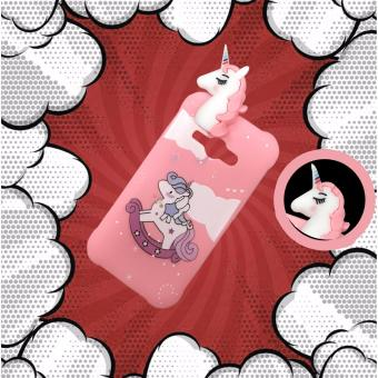 Intristore Softcase Silicon Phone Case Unicorn Manjat For Samsung Galaxy J1 Ace