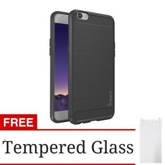 Hunter iPaky Carbon Fiber Shockproof Hybrid Back Case for OPPO F1s Selfie Expert / A59 -