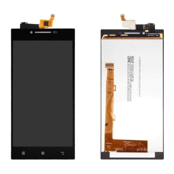 IPartsBuy LCD Display + Touch Screen Digitizer Assembly Replacement For Lenovo P70(Black) - intl