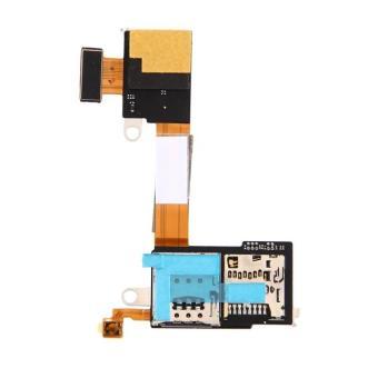 IPartsBuy Kartu SIM Reader Ribbon Kontak Kabel Fleksibel FOR Sony Xperia M2/ D2303/D2305