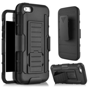 Iphone 5 5G 5S 5SE 2 in 1 Armor Impact Case Belt Clip Holster Stand Hard
