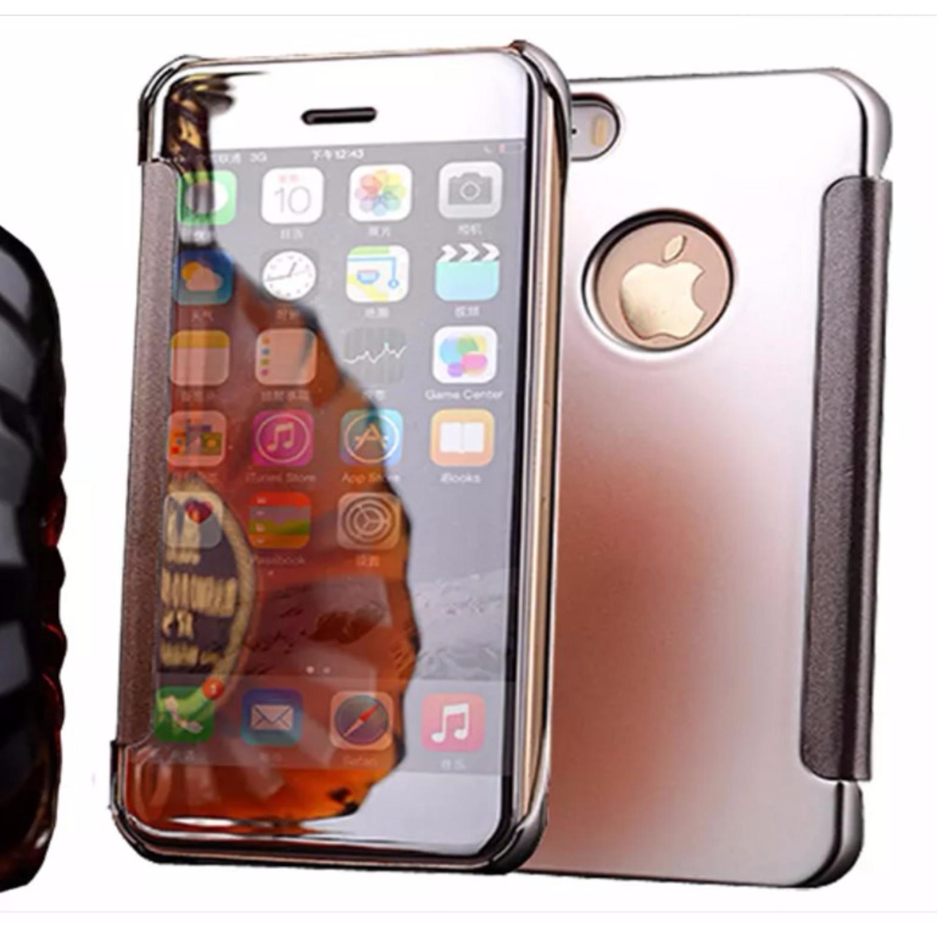 Shock Price Iphone 7 Plus Flipcase Flip Mirror Cover S View Transparan Auto Lock Casing Hp