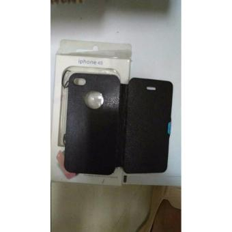 Iphone Sarung Flipcover Case Cover Casing Iphone 4S Foto Asli.