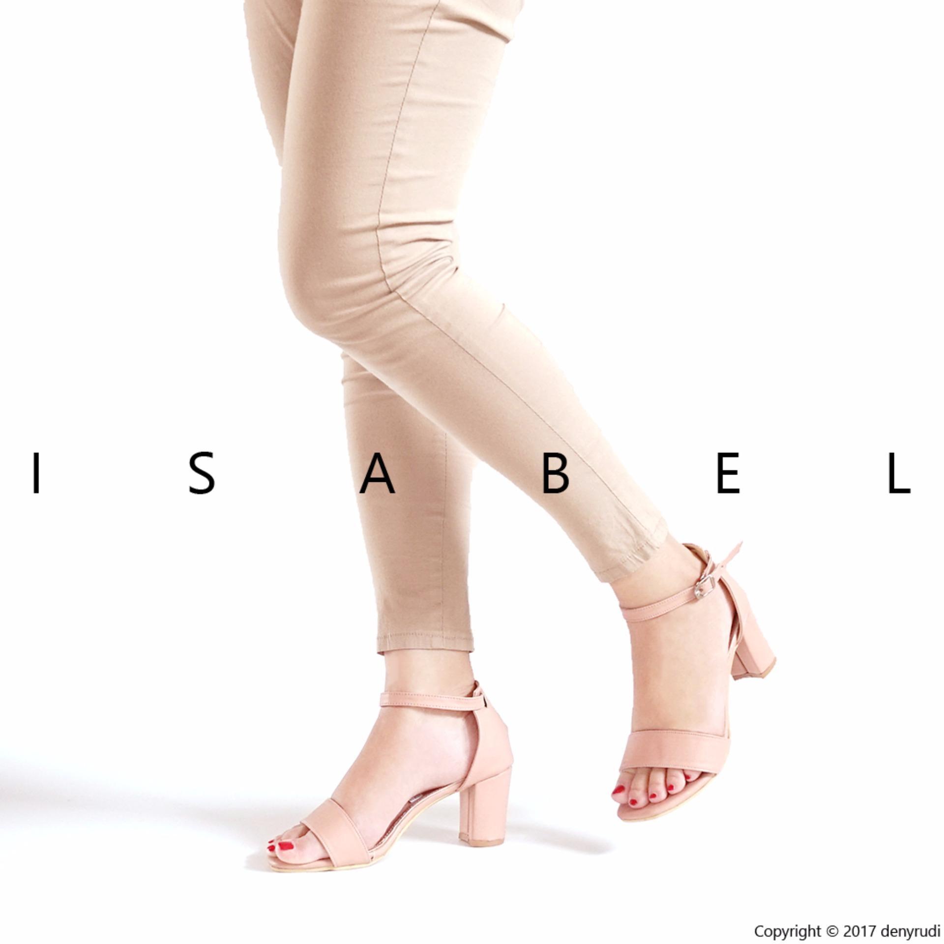 Isabel - Sepatu Wanita Hak Tinggi NIKITA Heels - Peach