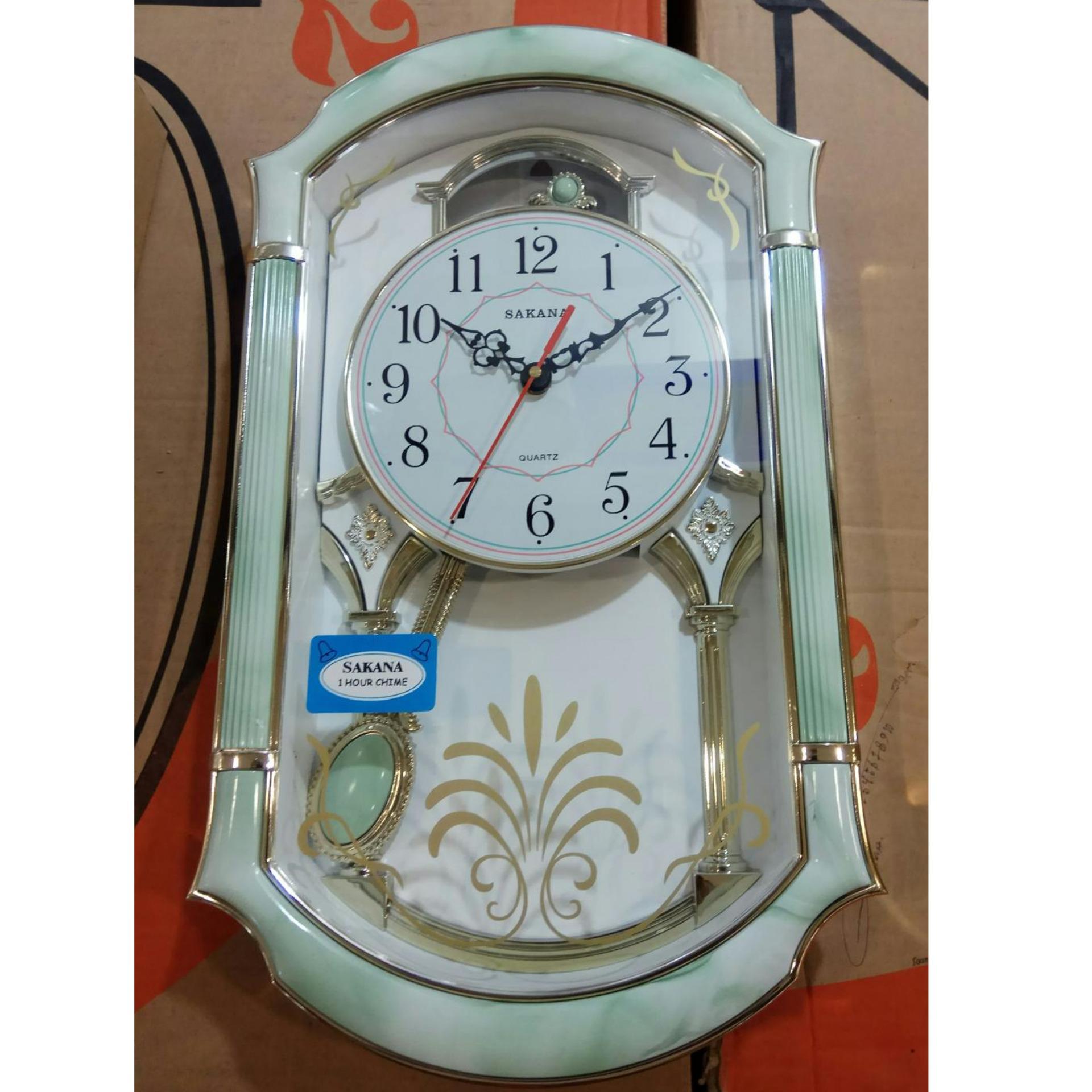 Fitur Jam Dinding Bandul Sakana Bunyi   Pendulum Murah Rjtt5d Dan ... a99237a354