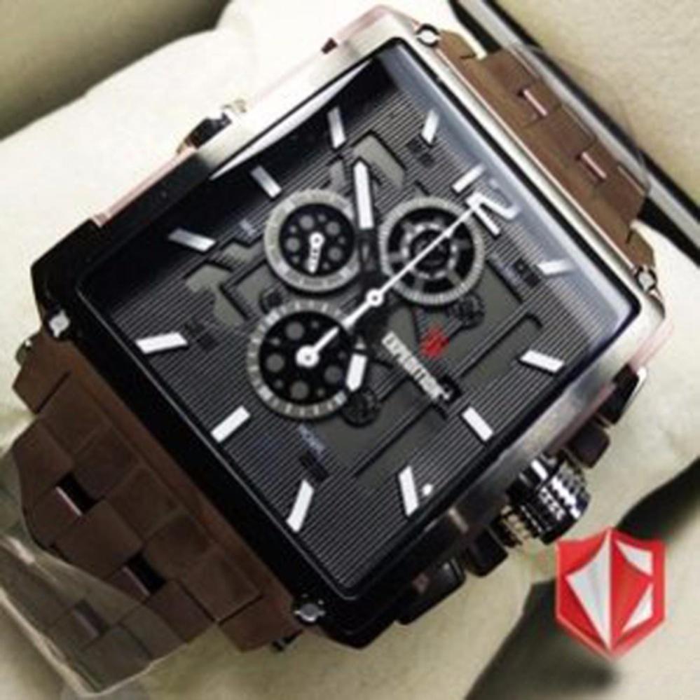Expedition Jam Tangan Pria E6385m Chronograph Black E6694 Dual Time Rose Gold Original E6618mbr Brown Terbaru Fashion