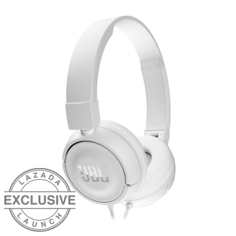JBL T450 On-Ear Headphone- Putih