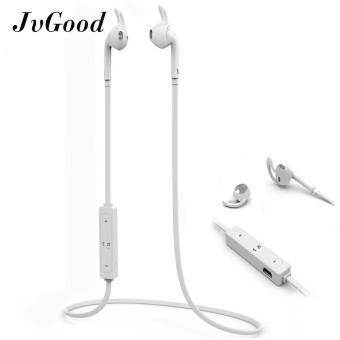 JvGood Bluetooth Headphone Nirkabel 4.1 Earbud Stereo Sweatproof Di Telinga Earphone Olahraga Gym Menjalankan Latihan Kebisingan
