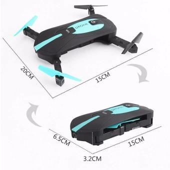 JY018 Elfie FPV Quadcopter Drone WiFi 2MP 720P Camera