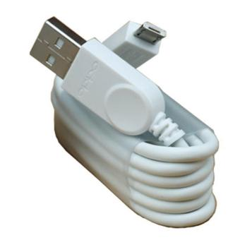 Kabel Charger Micro USB for Oppo - White ORIGINAL 100%