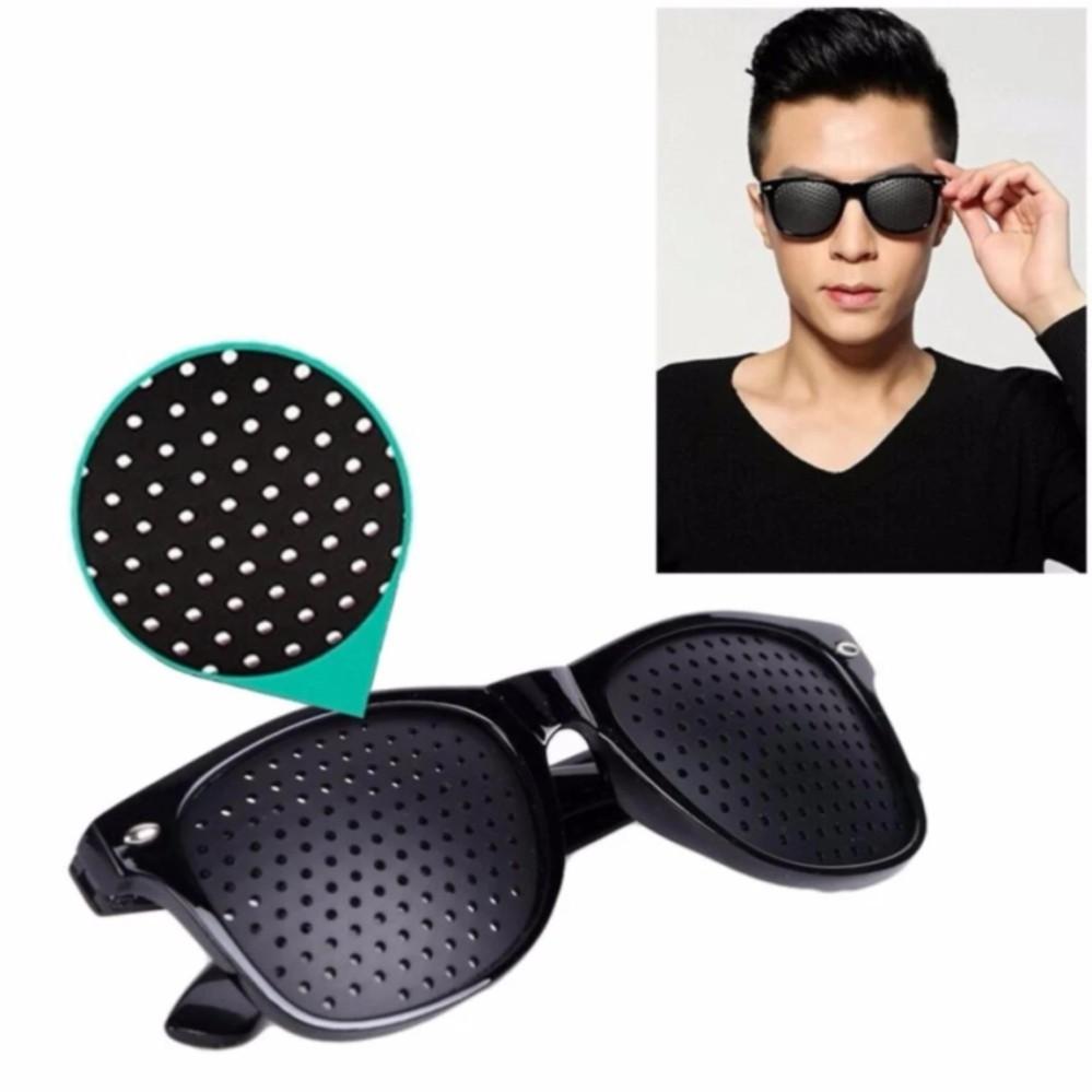Fitur Kacamata Pinhole Alat Terapi Mata Dan Harga Terbaru Terapy I Care Plus Minus Kaca Sunglasses