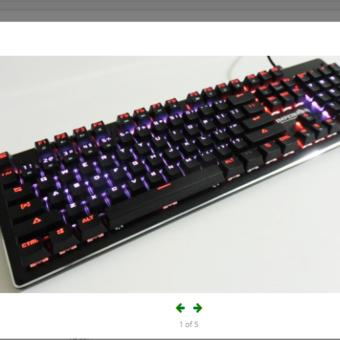 Keyboard Mechanical Imperion Mech10 RGB Full Size
