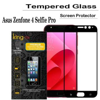 King zu Tempered Glass for Asus Zenfone 4 Selfie Pro - Anti Gores - Hitam -