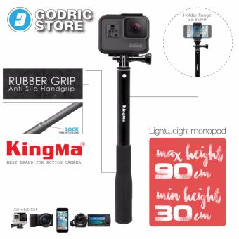 Harga KingMa Tongsis Monopod Original For Action Camera Xiaomi Yi, BricaB-PRO & GoPro Hero - Hitam