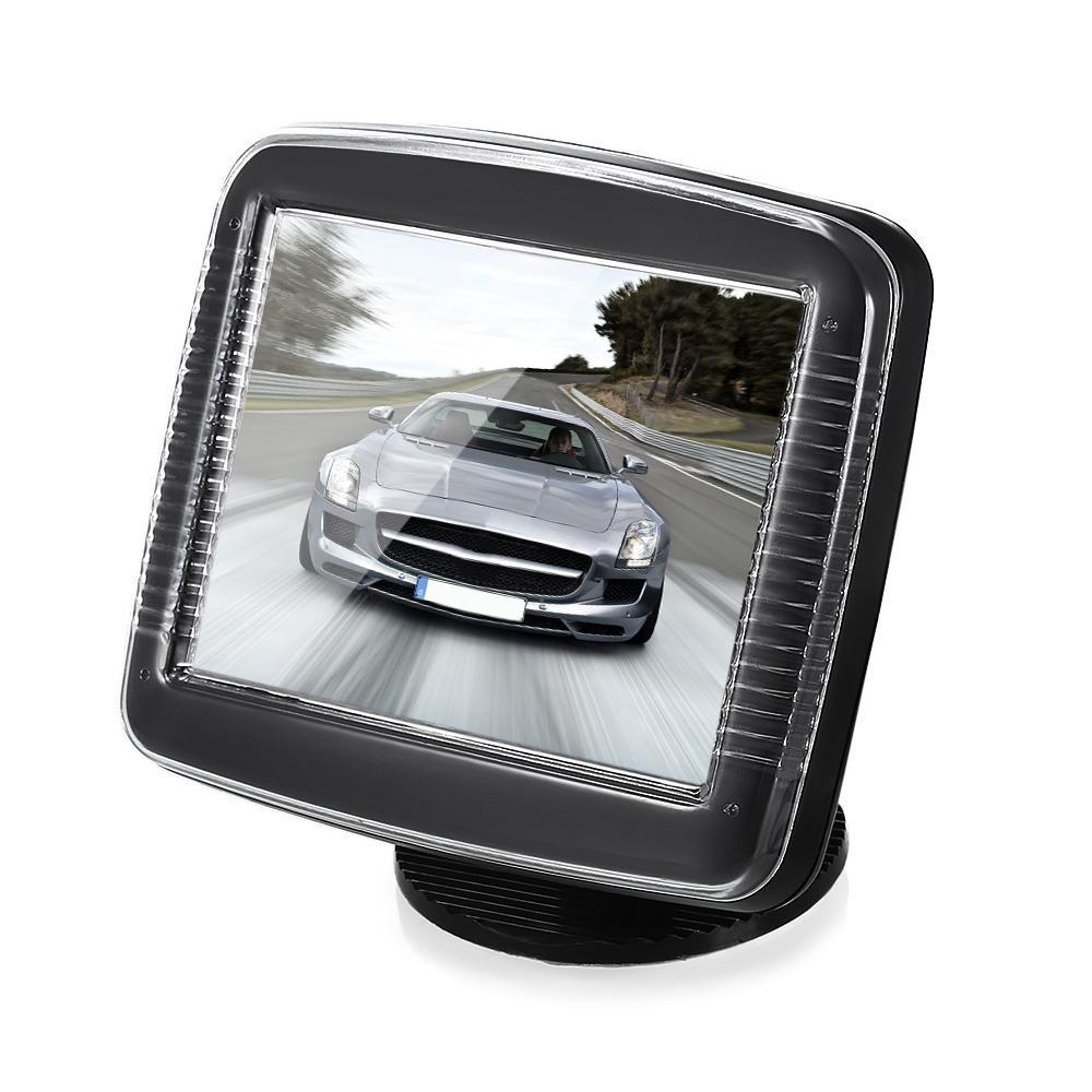 Kualitas Tinggi 350 3.5 Inch LCD Layar Mobil Monitor dengan Video Kabel-Intl