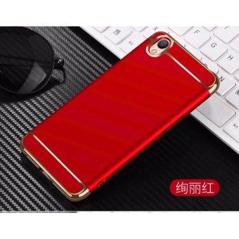 Leeco OPPO A37 Luxury Protective Case Matte (Merah) & Nbsp;-Intl