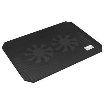 leegoal Laptop Cooling Cooler Pad - 2x Silent Fans - intl