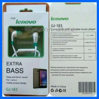 LENOVO GJ-183 In ear earphone colorful exstra bass portable headset - int