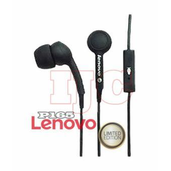 Lenovo In Ear P165 Original Super Bass Headset Audio Voice In Universal Suport Smartphones