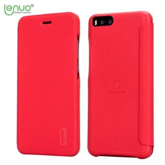 Lenuo Ultra Tipis Flip Cover Cell Phone Bag Lembut Kulit Case untuk Xiaomi Mi Note 3