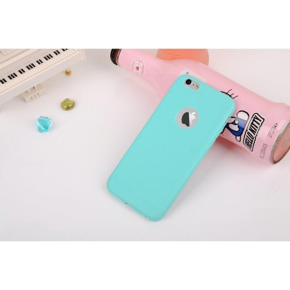 Apple iPhone 5 Softcase Anti Crack Colours Gradasi + FREE Phone Holder Ring .