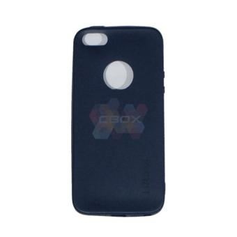 Lize Softshell Jelly Case Apple Iphone5 / Iphone 5 / Iphone 5G / Iphone 5S Ori / Soft Case / Soft Back Case / Silicone / Silicon / Silikon / Case HP / Casing Handphone - Biru Tua