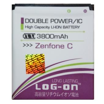 Log On Baterai ASUS Zenfone C / ZC451CG - Double Power Battery - 3800 mAh