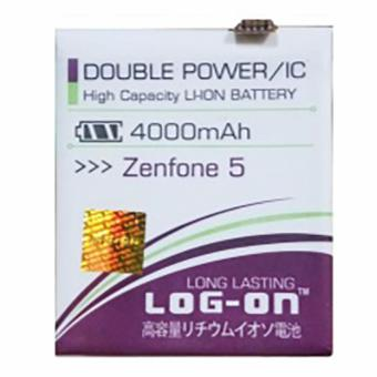 LOG-ON Battery For ASUS Zenfone 5 4000mAh - Double Power & IC Battery -