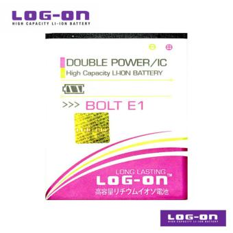 LOG-ON Battery Untuk Bolt Smartphone E1 / Zte - Double Power & IC -