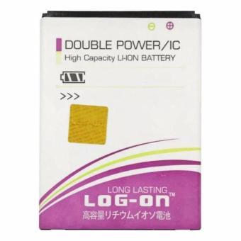 LOG ON Original Baterai Double Power Samsung Grand Prime/J5 2015/J3 2016/