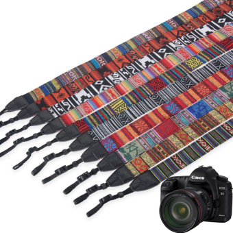 Luar ruangan travel asli suku bahu tali tali kamera