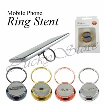 Lucky - iRing Mobile Stent 360 Derajat Rotasi Brand Smartphone ...