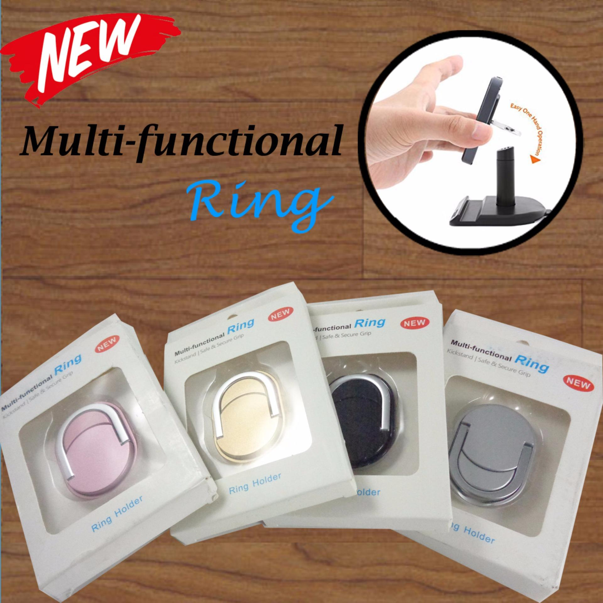 Lucky Multi Fungsional iRing Mobile Phone Ring Stent - 1Pcs