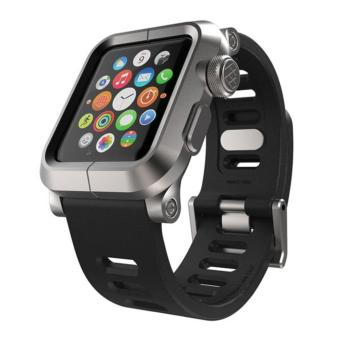 Lunatik Epik Silicone Band for Apple Watch 38mm Series 1 - Grey