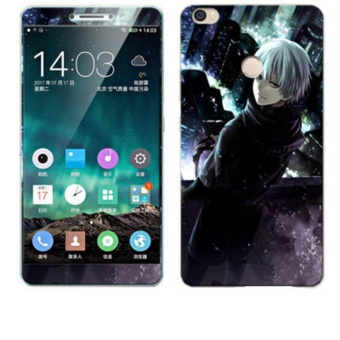 Luxury 3D Painting Front+Back Full Case Cover Color Tempered Glass Case For Xiaomi Mi Max 6.44 inch Screen Protector Film (Color-23) - intl ...