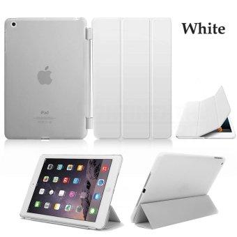 Kulit Slim Magnetic Smart Cover Hard Back Case To Apple IPad 2/3/4