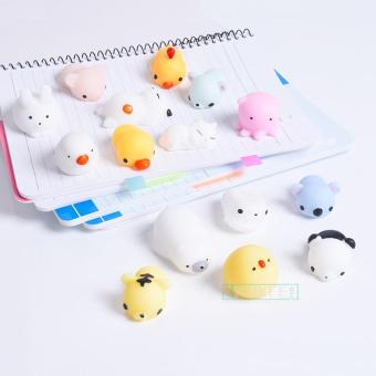 Mainan Lucu Squishy Bisa Untuk Case / Tempelan HP Case for Case / HP ( Squishy Only ) Aksesoris Fashion HP - Squishy Toy Fidget Hand Rising Model Animal Lucu Menggemaskan Silicone Squishy Toy Fidget Hand Rising Animal Squeeze - Motif Random