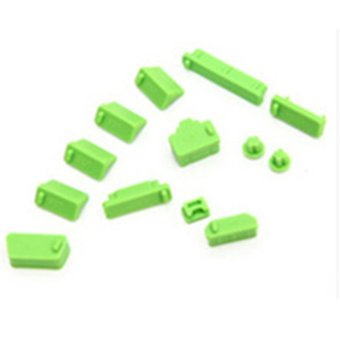 Makiyo 13 Pcs Pelindung Port Cover Silicone Anti-DUST Plug Stopper For Laptop Notebook
