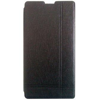 Max - Xiaomi Redmi 1S Imported Premium Cover Wallet Flip Case - Hitam