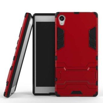Meishengkai Case untuk Sony Xperia Z5 Premium Dilepas 2 In 1 Hibrida Armor Case Dual-