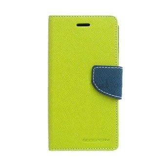 Mercury Goospery Fancy Diary for Asus Zenfone 5 Case - Lime-Navy