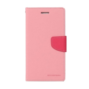 Mercury Goospery Fancy Diary for Case Flip Cover Casing for Xiaomi Mi4 - Pink