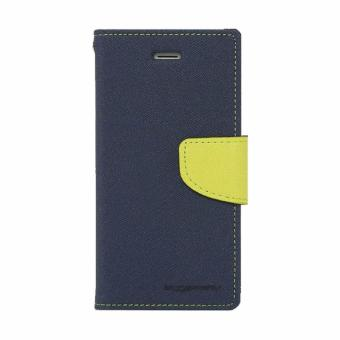 Mercury Goospery Fancy Diary for LG G3 Stylus Case - Navy-Lime