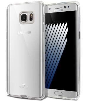Fitur Mercury Jelly Soft Case For Samsung Galaxy Note Fe 7 Black Dan