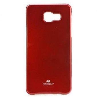 Mercury Jelly TPU Soft Case untuk Samsung Galaxy A5 2016 Casing Cover - Merah