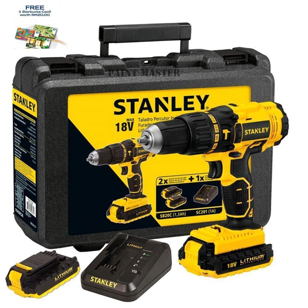 Fitur Mesin Bor Stanley Stel 105 Dan Harga Terbaru Katalog Lengkap Gergaji Reciprocating Stel365 365 Baterai Cordless Hammer Drill Sch20c2k B1 Sch 20 C2k