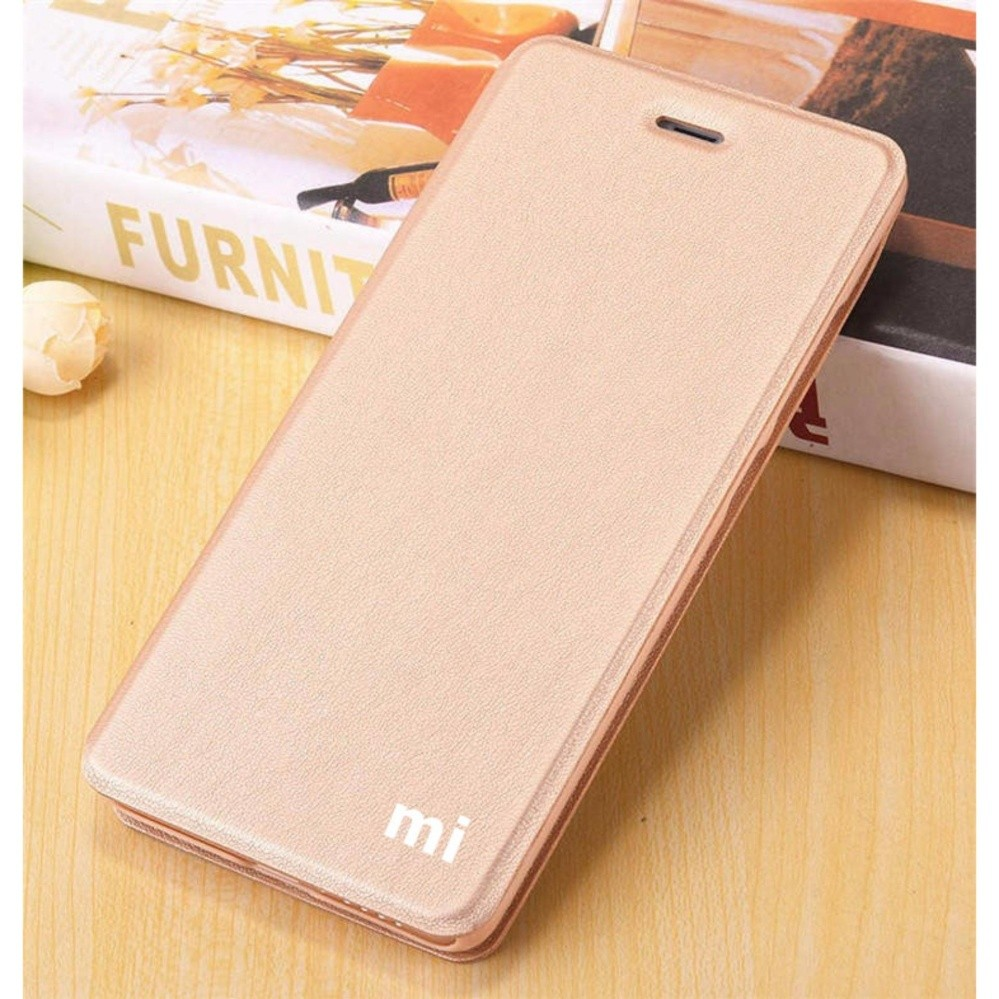 Ume Advan Vandroid S4T Flip Cover Kulit Sintetis With Silicone Interior/ Flip Shell Leather Faux