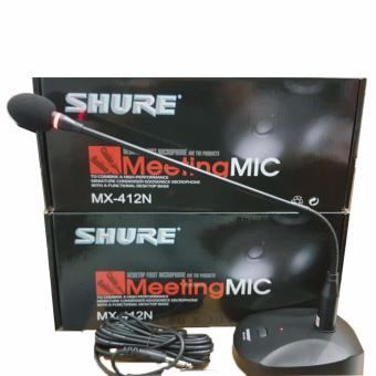 Mic Podium SHURE MX 412N Podium / Conference Microphone 39Shop MX 412 N